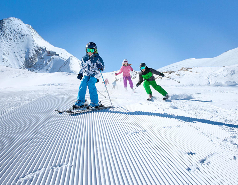 Skispaß im Winter